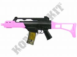 M41L BB Gun G36 Replica Spring Airsoft Tactical Rifle 2 Tone Pink Black